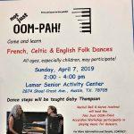Not Just OOM-PAH Folk Dance