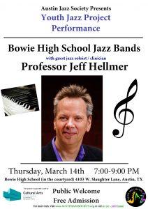 Austin Jazz Society - Youth Jazz Project - Bowie High School