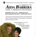A Tribute to Aida Barrera and Carrascolendas