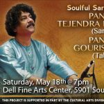 ICMCA presents Pandit Tejendra Majumdar on the Sarod