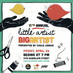 CHULA LEAGUE PRESENTS THE 11TH ANNUAL LITTLE ARTIST BIG ARTIST BENEFIT ART SHOW