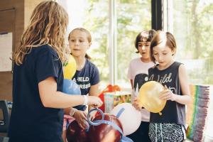 UMLAUF Summer Camp Week 1: Recycled Art