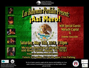 !Así Mero! A Celebration of the Diverse Music of Mexico
