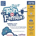 Tech Familia Workshop at Ruiz Library