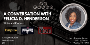 A Conversation with Felicia D. Henderson
