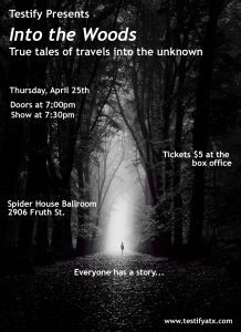 Testify presents Into the Woods