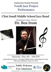 Clint Small Middle School Jazz Band Performance