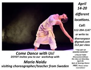 """""""THE ART OF MAKING DANCERS"""" Master classes with Ma..."""