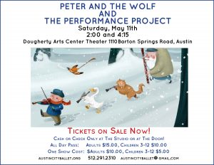 Peter and the Wolf and The Performance Project