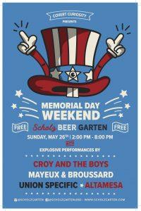 Celebrate Memorial Day Weekend at Scholz Garten
