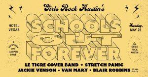 School's Out Forever: Girls Rock Austin Camper &am...