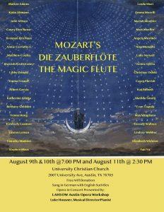 Mozart's Die Zauberflöte (The Magic Flute)