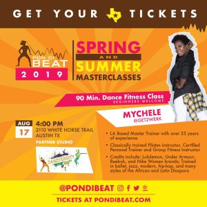 PON DI BEAT: GET2WERK. MYCHELE SIMS ALL LEVELS AFR...