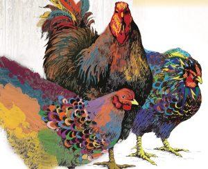 Chickens in the Yard (@Vortex)