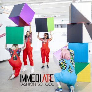 IMMEDIATE Fashion School — Fashion & Painting - Wear Your Abstracted Heart On Your Sleeve