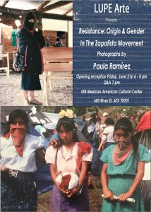 Resistance: Origin and Gender in the Zapatista Mov...