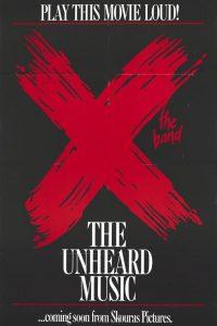 AFS Presents: X: THE UNHEARD MUSIC
