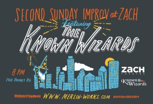 Merlin Works Presents Improv at ZACH Second Sunday Comedy Showcase