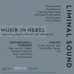 Musik in Nebel (Fog Music) open rehearsal/workshop