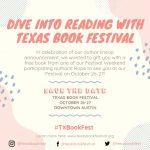 Texas Book Festival: Dive Into Reading