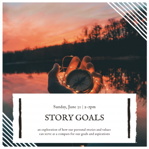 Your Creative Compass: Story Goals