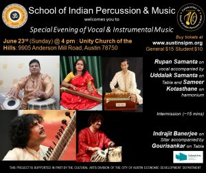 Special Evening of Vocal & Instrumental Music