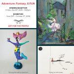 Opening Reception for Adventure, Fantasy, & FUN