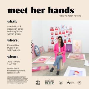 Meet Her Hands No. 1: Karen Navarro