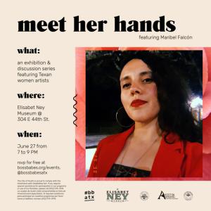 Meet Her Hands No. 2: Maribel Falcón