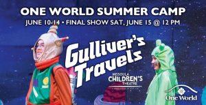 ONE WORLD SUMMER CAMP – GULLIVER'S TRAVELS