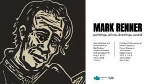 Mark Renner: paintings, prints, drawings, sound
