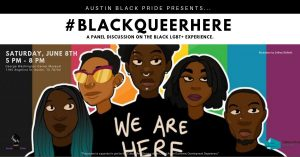 Black Queer Here: Panel Discussion