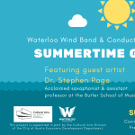 Waterloo Wind Band Concert: Summertime Getaways