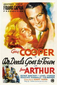 AFS Presents: MR. DEEDS GOES TO TOWN