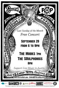FREE CONCERT At SouthPop September 29th!