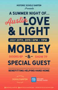A Summer Night of Austin Love & Light Benefitt...