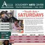 Saturday Youth Arts, Fall 2019