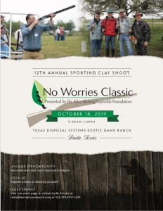 2019 No Worries Classic Sporting Clay Shoot