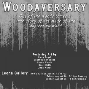 Woodaversary Art Show Closing Party