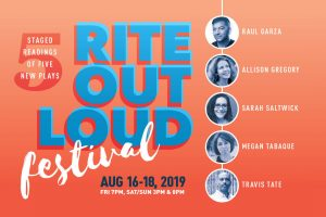 Rite Out Loud Staged Reading Festival