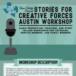 Stories for Creative Forces Austin Workshop