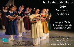 Nutcracker Audtions - Austin City Ballet
