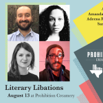 Texas Book Festival Presents: Literary Libations — Books Tips and Sips