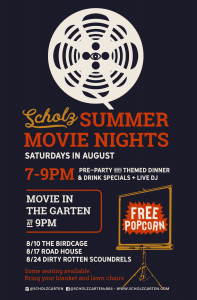 Scholz Garten Summer Movie Nights