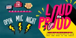 Loud and Proud Open Mic Night: September