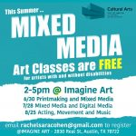 Mixed Media Open Studio: A collaborative space for artists with and without disabilities