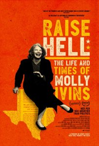 AFS Presents: RAISE HELL: THE LIFE AND TIMES OF MOLLY IVINS