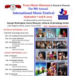 Texas Music Museum's 9th International Music Festival