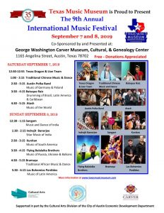 Texas Music Museum's 9th International Music Festi...