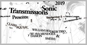 Sonic Transmissions: Sept. 5th
